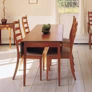 I made myself this harvest table and the Katardin chairs. I put rushed seats on my chairs
