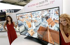 LG toont Curved 77-inch 4K Ultra-HD OLED TV tijdens IFA 2013