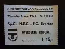 NEC vs Everton 06-08-1975