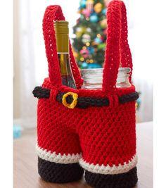 How To Crochet Santa Gift Pants
