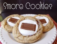 Smore Cookies and Easy InDoor Smores