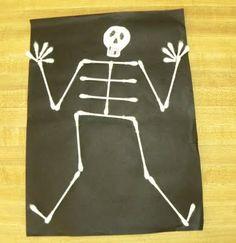 Mr. Bones - Halloween craft idea
