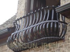 Metal Window Security Bars With Window Boxes Exterior