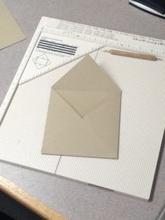 The Paper Nest: Making Envelopes......=)