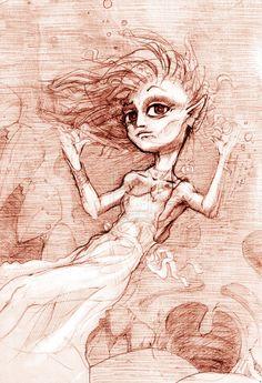 Underwater lilly by yzorg on DeviantArt Sketching, Worlds Largest, Underwater, Deviantart, Abstract, Artwork, Artist, Art Work, Work Of Art
