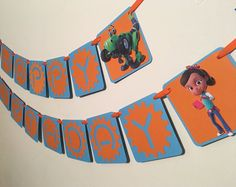 Items similar to Rusty Rivets Birthday Banner/Rusty Rivets Birthday Party/Rusty Rivets Party Decor/Rusty Rivets Cupcake Toppers on Etsy 3rd Birthday Parties, Birthday Party Decorations, Construction Party, Party Time, Birthdays, Banner, Party Ideas, Handmade Gifts, Kids