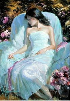 Gallery of artist Vladimir Volegov, portraits of very beautiful women. Dream Painting, Woman Painting, Painting & Drawing, Ecole Art, Beautiful Paintings, Art World, Contemporary Art, Art Photography, Fine Art