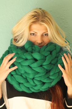 Hey, I found this really awesome Etsy listing at https://www.etsy.com/listing/250218670/arm-knitted-chunky-scarf-knitted-scarf