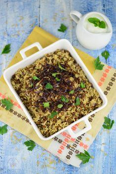 Orez cu linte si ceapa caramelizata (Mujaddara) - CAIETUL CU RETETE