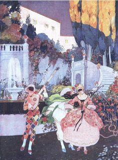 La Comédie Italienne by Brunelleschi, 1912