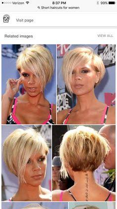 New Pixie Haircut Haircuts For Fine Hair, Haircut For Thick Hair, Short Hairstyles For Women, Black Hairstyles, Pixie Haircut, Pixie Hairstyles, Mom Haircuts, Uneven Bob Haircut, 2015 Hairstyles