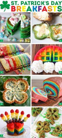 St. Patrick's Day breakfast ideas!
