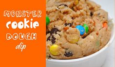 Oh man, I love my cookie dough AND my m&m's!