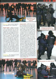 COMMANDO MAGAZINE Mars 2016 - Formation des ERIS FRANCE par le Capitaine Jacques Levinet