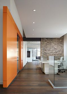 Gary Lee Partners - Workplace - Prophet: Chicago, IL. DuChateau Floors Riverstone Seine.