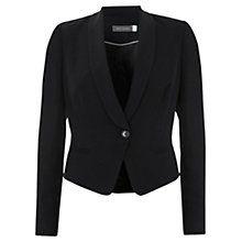 Mint Velvet Tuxedo Jacket  Really liked the cut- felt it was a bit more interesting then juts a single breasted blazer cut