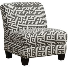 Handy Living Andee Slipper Chair ($230) found on Polyvore