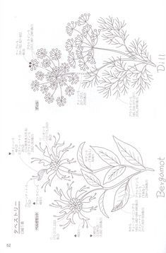 Herb Embroidery, Embroidery Designs, Couture, Your Image, Wild Flowers, Tapestry, Simple, Home Decor, Needlepoint