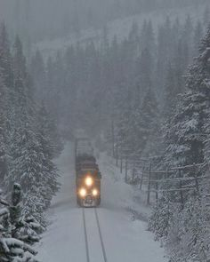 Snow Train, Blue Mountains, Oregon  Image Credit : Tom Ford — with Shaul Jonah and 16 others.
