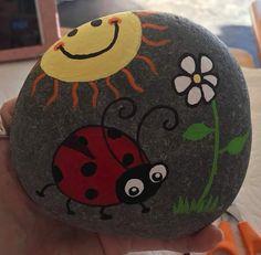 Ladybug in the sun.