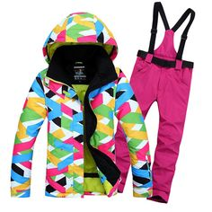 Ski suit set Women waterproof windproof ski suit female skiing outerwear color-inSkiing Jackets from Sports & Entertainment on Aliexpress.com | Alibaba Group