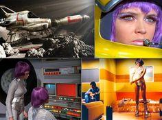 Gerry Anderson's UFO TV series.
