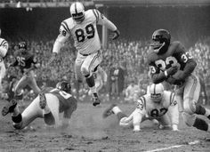 It may not have been the greatest pro football game ever, but Colts vs. Giants on Dec. 28, 1958 was the most important. The NFL championship riveted TV fans through four quarters - plus 8:15 of the first overtime in league history (final: Baltimore 23, New York 17). Madison Avenue decided the sport was hot; CBS locked in a long-term contract; and in 1960, ABC helped fund a rival league, the AFL.