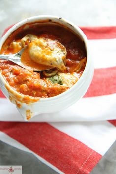 Caprese Soup by Heather Christo, via Flickr