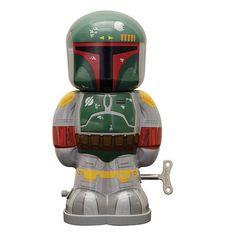 Star Wars Boba Fett 7 1 2-Inch Wind-Up Tin Toy $19.99