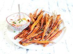 Frites de carotte et patate douce
