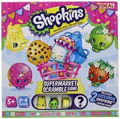 John Adams Shopkins Supermarket Scramble Game >>> You can get additional details at the image link.