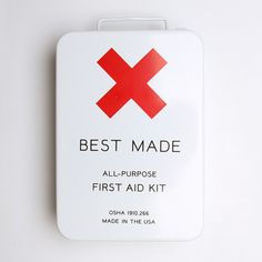 First Aid Kit from Best Made Company
