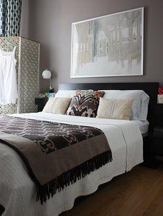 Paint Color Portfolio: Purple-Brown Bedrooms