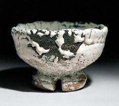 Chawan by National Living Treasure of Japan, Jusetsu Miwa (1910-2012)