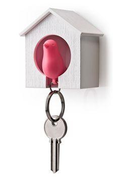I love a novel idea on something mundane. A nice new home for your keys!