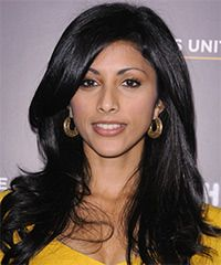 Reshma Shetty Hairstyle Long Straight
