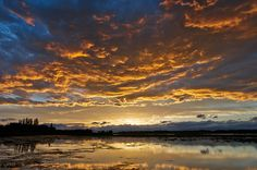 Sunset of Lake Izunuam.