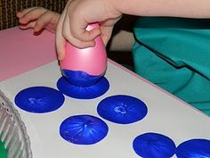 Painting with balloons - Great Idea!!