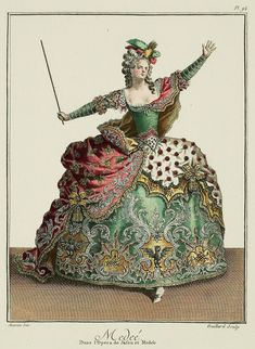 They are nearly all the invention of Jean-Baptiste Martin, who has been the Designer for the Opera for twenty-five years, and who has engraved most of them.