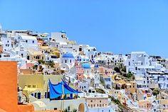 Greece, Santorini, Beach, The Sun