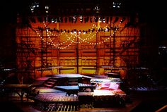Candide. Conservatory of Music, University of Cincinnati. Scenic design by Paul Shortt.