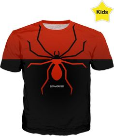 Have you seen this? Love and Design B... - click through http://loveanddesign.com/products/love-and-design-brand-spider-t-shirt-kids?utm_campaign=social_autopilot&utm_source=pin&utm_medium=pin