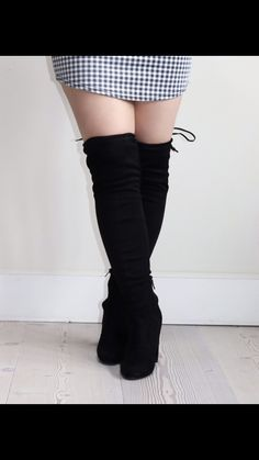 Thigh high boots are always one of my wardrobe must haves!