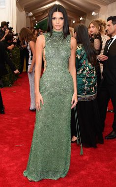 Kendall Jenner at the 2015 MetGala/ MetBall