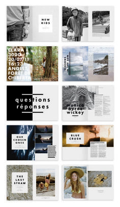 How to Get Started with Magazine Layout Design 145 superbes designs de mise en page magazine Design Editorial, Editorial Layout, Graphisches Design, Cover Design, Swiss Design, Print Design, Logo Design, Design Ideas, Layout Inspiration