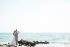A Chic Beach Wedding at Private Residence in Naples, Florida