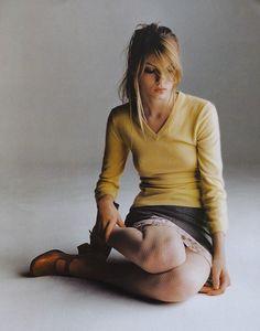 ☆ Angela Lindvall | Photography by Gilles Bensimon | For Elle Magazine US | December 1996 ☆ #Angela_Lindvall #Gilles_Bensimon #Elle #1996