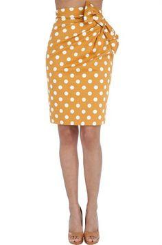 Falda recta. Modelo VIC
