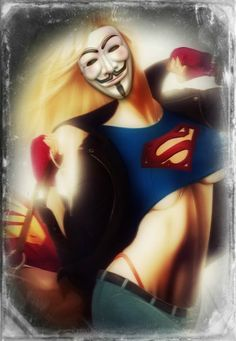 Anonymous / Anonymiss Guy Fawkes