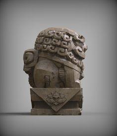 ArtStation - Chinese Fu-dog, Zhelong XU